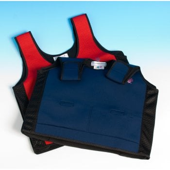 Weighted Compression Vest Blue*