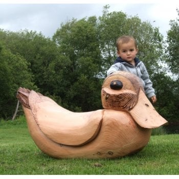 Giant Wooden Rocking Duck*