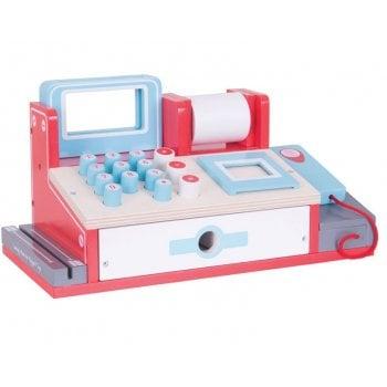 Shop Cash Register With Scanner