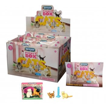 Breyer Pocket Cats Box - Collect All 24