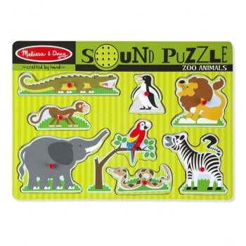 Modern Classic Zoo Sound Puzzle