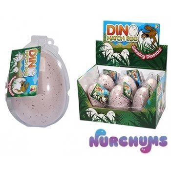 Large Dino Hatching Egg