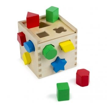 Melissa and Doug Shape Sorting Cube