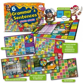 Smart Kids 6 Grammar & Sentences Board games