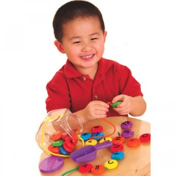 Learning Resources Smart Snacks ABC Lacing Sweets Childrens Fine Motor Toy