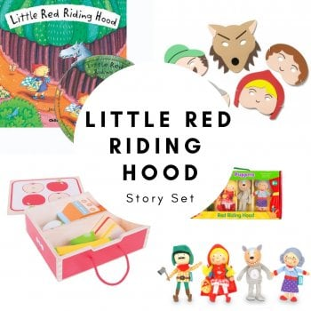 Little Red Riding Hood Story Set