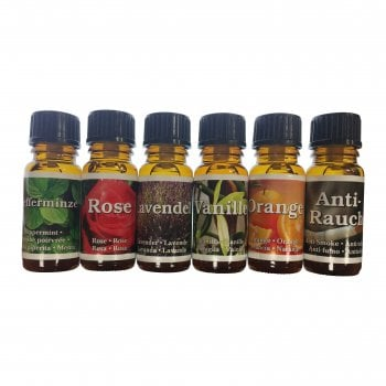 Aromas Scents for the Aroma Diffuser Pack 6