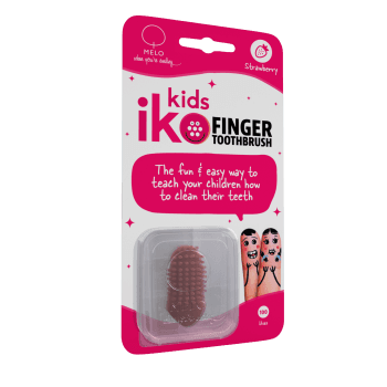 iKo Kids Finger Toothbrush Strawberry