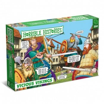 Horrible Histories Vicious Vikings Jgsaw 250 Pcs
