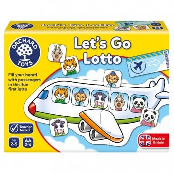 Lets Go Lotto - A fun travel themed lotto game