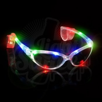 LED Flashing Light-Up Glasses