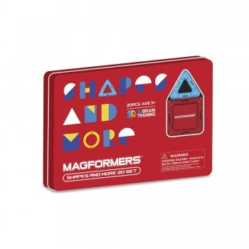 Shapes And More In Tin 20 Magformers