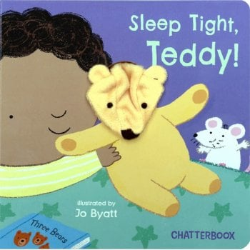 Sleep Tight Teddy Chatterbox Board Book