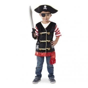 Melissa And Doug Pirate Role Play Costume Set Melissa And