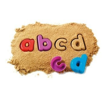 Learning Resources Lowercase Sand Moulds