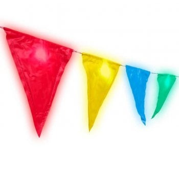 Light Up Bunting - Room Decorations