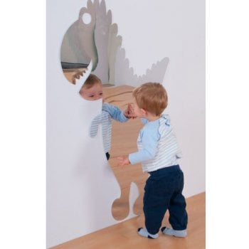 Children's Plastic Safety Mirror - Giant T.Rex Dinosaur