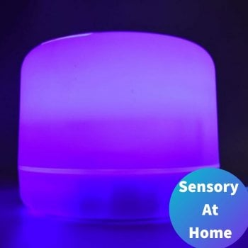 Colour Changing Aroma Diffuser with bluetooth speakers