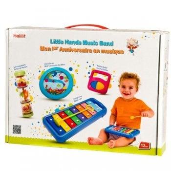 Halilit Little Hands Music Band Gift Set
