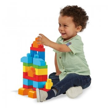 Mega Blocks Big Building Bag 60pcs Bag