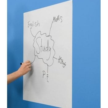 A1 Plain White Magic Whiteboard ™ - 25 sheet roll