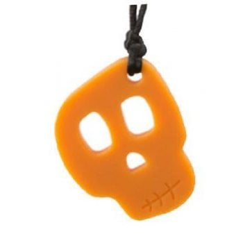 Skull Shaped Chew Necklace