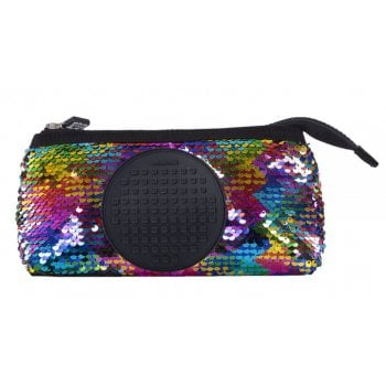 Pouch with Pixel Panel - For Crafts on The Move