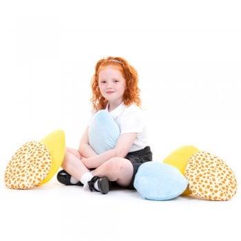 Sensory Egg Cushions Pk 12