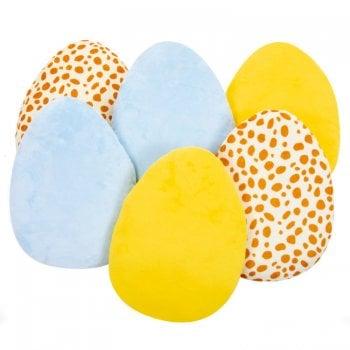 Sensory Egg Cushions Pk 6