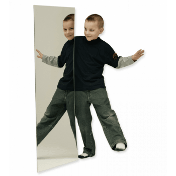 Plywood Backed Acrylic Mirror 1200 x 600** - Helps enhance the bubble tube