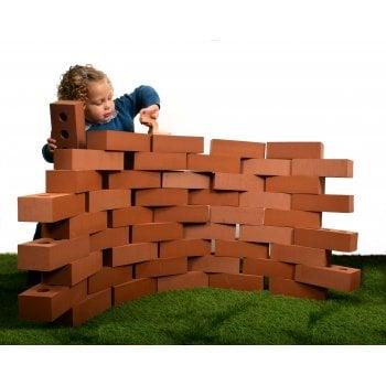 Foam Life-Size Building Bricks (set of 25)