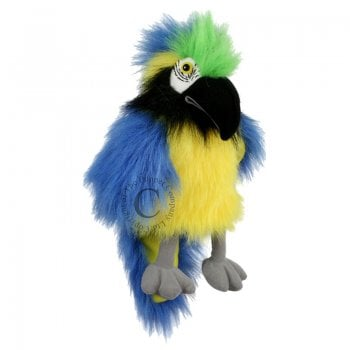 Macaw Blue - Long-Sleeved Hand Puppet