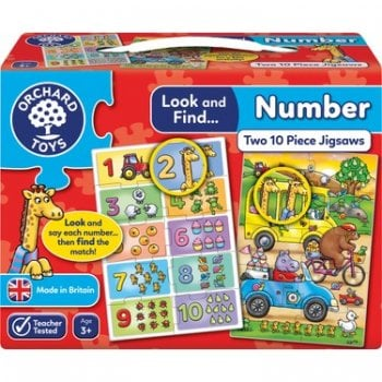 Look and Find Puzzle - Number