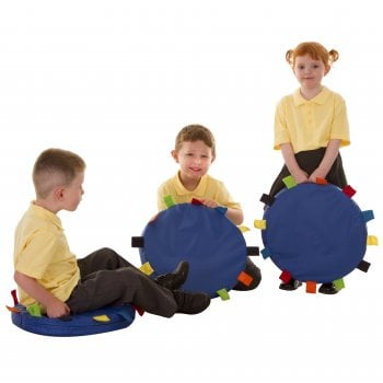 Sensory Touch Tag Carry Cushion