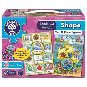 Look and Find Puzzle - Shape