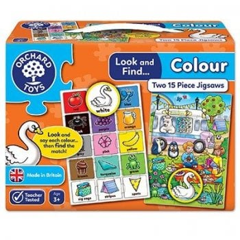Look and Find Puzzle - Colour