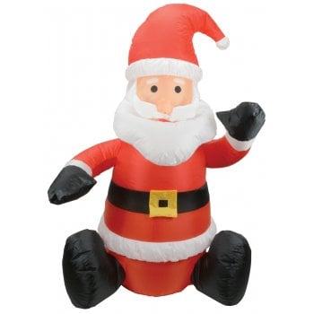 Inflatable 5ft Sitting Santa