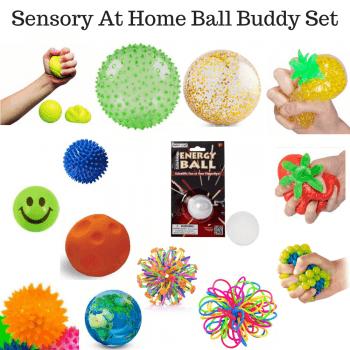 Sensory At Home Ball Buddy Set*