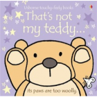 Thats Not My Teddy Book - Interactive, sensory book