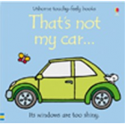 Thats Not My Car Book - Interactive, sensory book