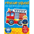 Rescue Squad - 2 and 3 Piece jigsaw puzzles
