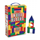 100 Wood Blocks