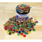 Magnetic Counting Chips Tub Pk