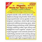 Magnetic Words Years 3.4. & 5