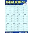 Phonic Spelling Practice Cards Poster