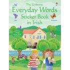 Everyday words in Irish Sticker Book