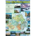 Map of Northern Ireland Poster