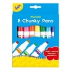 8 Chunky Pens - Washable