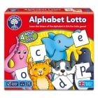 Alphabet Lotto - Easy To Play Childrens Board Game