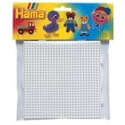 Midi Hama Board - Square Small White